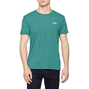 Tommy Jeans Herren Modern Jaspe  Kurzarm  T-Shirt