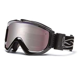 Smith Knowledge Turbo Fan OTG Ignitor Mirror Lens Snow Goggle - Black
