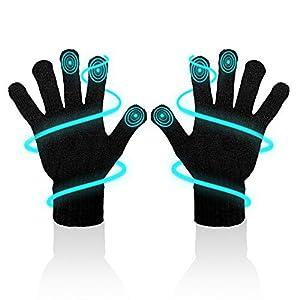 MR Goods® Handschuhe Herren isolierend & atmungsaktiv – Touchscreen Handschuhe für Smartphone und Tablet – Fahrrad Winterhandschuhe Unisex