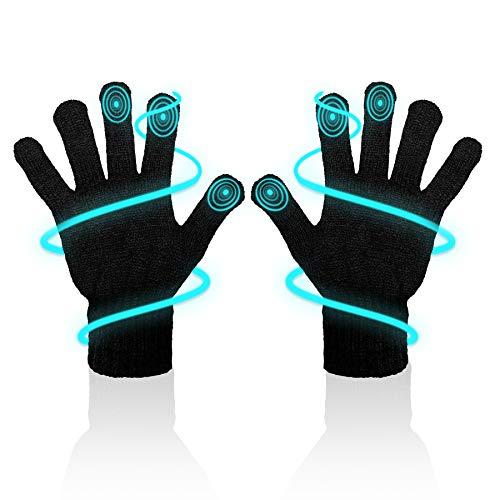 MR Goods® Handschuhe Herren isolierend & atmungsaktiv - Touchscreen Handschuhe für Smartphone und Tablet - Fahrrad Winterhandschuhe Unisex