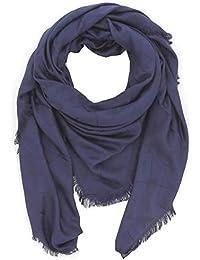 Emporio Armani Foulard sciarpa donna 632309 8P418 00136 blu navy 631f74d73204