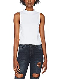 Urban Classics Damen Ladies Turtleneck Short Top
