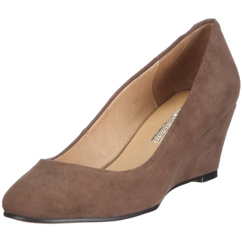 Buffalo London 110-5427 KID SUEDE 115778, Damen Pumps, Grau/SMOKE 01, EU 40