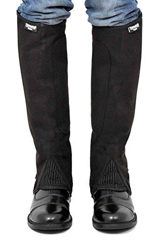 Riders Trend Amara halblange Beinschützer mit Thinsulate-Futter schwarz - schwarz