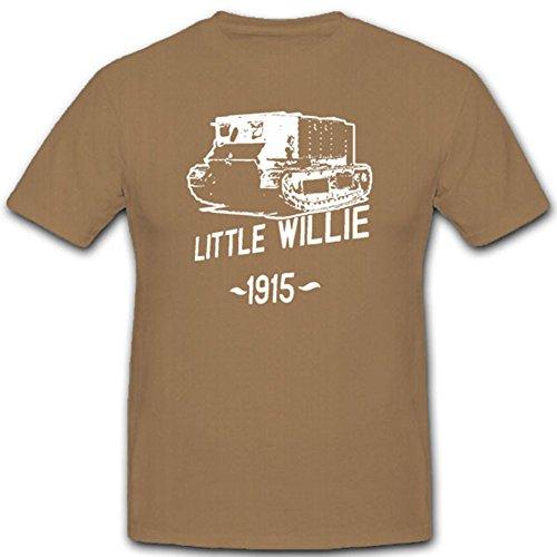 Little Willie 1915 Prototyp Panzer Panzerfahrzeug Panzerkampfwagen Panzerentwicklung Militär Militärgeschichte Militärfahrzeug - T Shirt Herren khaki #5480