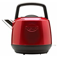 Prestige - Heritage - Red Electric Kettle - Cordless - Fast Boil - Stainless Steel - Retro - 3000 W - 1.5L