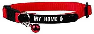 Cat Collar With Saftey Catch & Address Tag