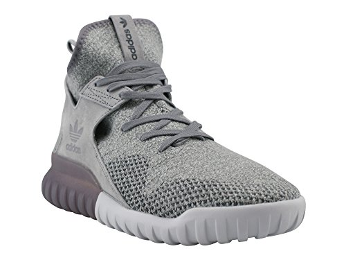 adidas Tubular X Pk, Chaussures de Basketball Homme Gris (Ch Solid Grey/utility Black/crystal White)