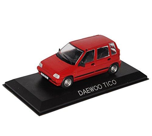 daewoo-tico-5-turer-rot-1991-2001-1-43-modellcarsonline-modell-auto
