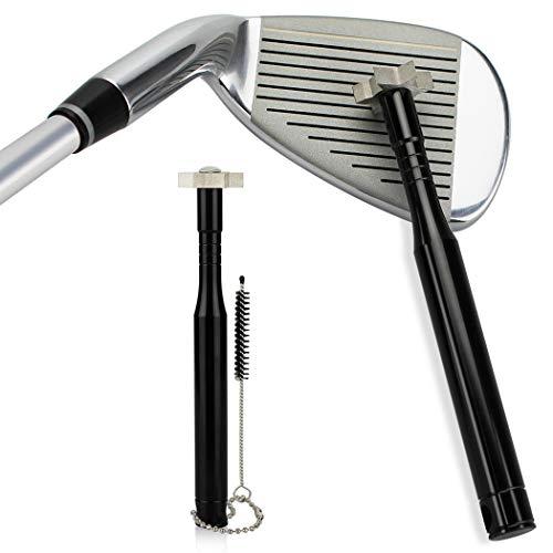 Fansport Groove Sharpener Praktischer Golf Groove Cleaner Golf Reinigungswerkzeug Mit BüRste