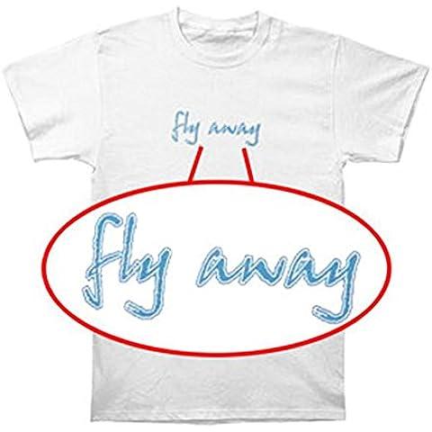 Tusgur Lenny Kravitz Men's Fly Away T-shirt White