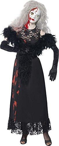 Halloween Doll Kostüm Living (SMIFFY 'S Living Dead Dolls Hollywood Damen Kostüm Kleid)