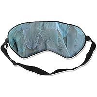 Feather Pattern 99% Eyeshade Blinders Sleeping Eye Patch Eye Mask Blindfold For Travel Insomnia Meditation preisvergleich bei billige-tabletten.eu