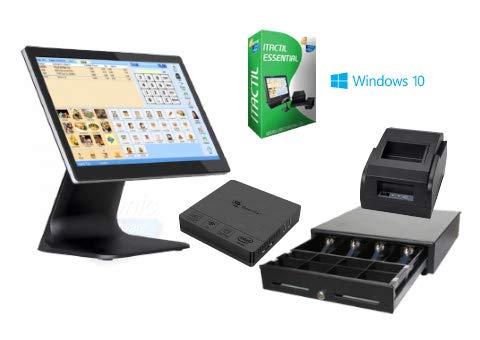 TPV táctil completo + cajón + impresora 58mm + software