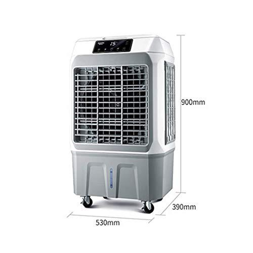 MU Home Wohnzimmer Schlafzimmer Fan-Fan Super Wind Leise Kühlung Industrie 3-in-1-Fernbedienung Klimaanlage Luftbefeuchter und Luftreiniger Funktion, 3 Geschwindigkeiten mit Oszillation, Spannung 220 -