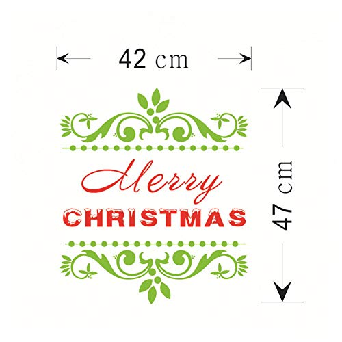 Wandaufkleber Weihnachten Removable Wandaufkleber Aufkleber Marry Christmas Decor Aufkleber