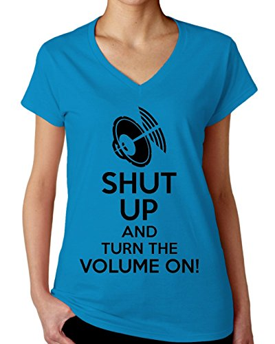 shut-up-and-turn-the-volume-on-womens-v-neck-t-shirt-xx-large
