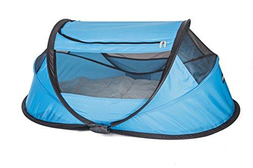 Reis-bett-möbel (Deryan BB-BLUE Travel-Cot Reisebett Babybox, blau)