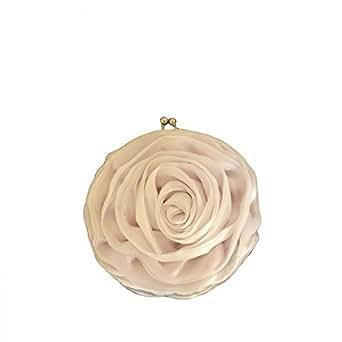 Shopping-et-Mode - Petit sac à main en forme de fleur très vintage et original - Blanc