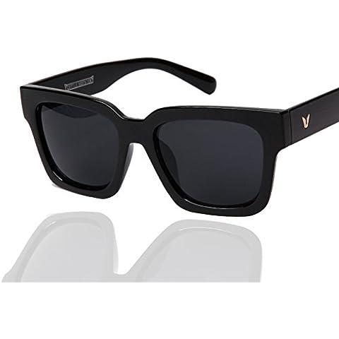 ZWX Tonalità di colore scatola trasparente/Occhiali da sole spiaggia ombra-A