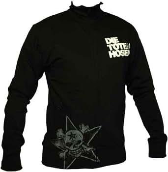Die Toten Hosen - Double Skull Jacke, schwarz, Grösse XXL