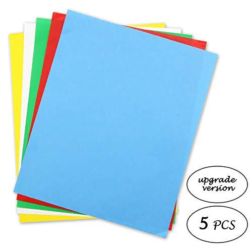 Transparentpapier, wasserlöslich, Carbon, 28 x 23 cm, Transfermuster auf Stoff, Leinwand, Zubehör zum Nähen (Papier Wasserlösliches)