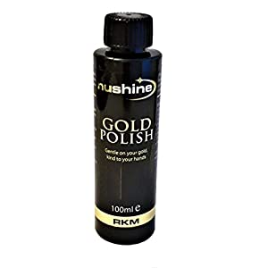 Nushine Gold Polish – Reinigungsmittel Gold 100 ml