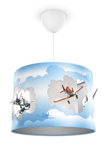 Philips e Disney, Lampadario Sospensione LED, Paralume con Pendenti, Planes