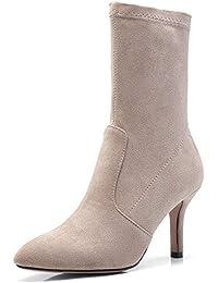 Amazon.es  calcetin botas - Zapatos para mujer   Zapatos  Zapatos y ... de0e24b4bf46