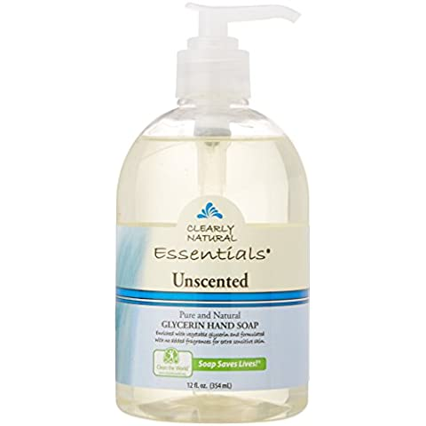 Clearly Natural Unscented Liquid Soap with Pump 360
