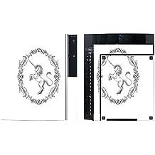 'Disagu SF de SDI de 3372_ 1125Diseño Protector de pantalla para Sony PS3de pie con controlador–Diseño Unicornio Clásico transparente