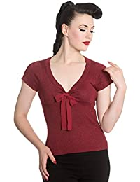 Hell Bunny Top ANGETTE 6541