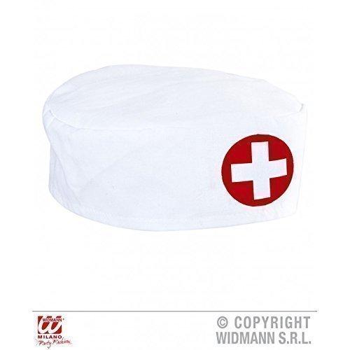 Doktoren - Schwestern Cap / Haube zum Aufsetzen in weiß