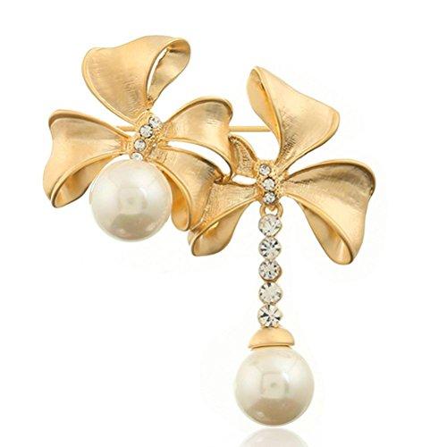 FPP Lega perla pendente / diamanti Accessori , silver