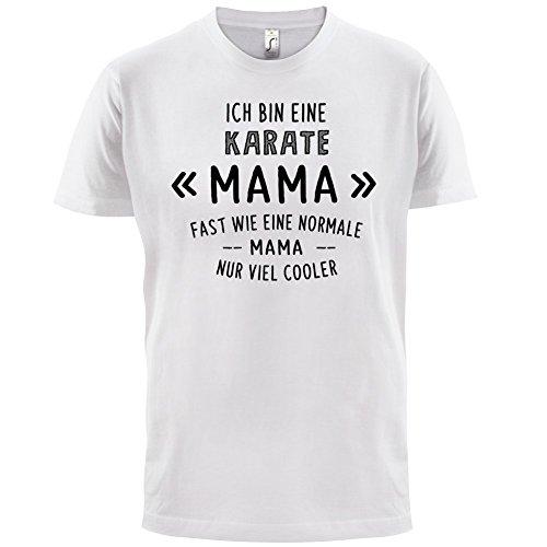 Ich bin eine Karate Mama - Herren T-Shirt - 13 Farben Weiß