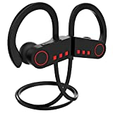 JETech Bluetooth Headphones Sport Bluetooth V4.1 Wireless Earphones HD Stereo IPX7 Waterproof w/Microphone