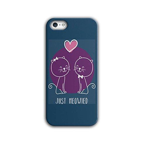 Niedlich Kätzchen Hochzeit Zeit iPhone 5 / 5S Hülle | Wellcoda
