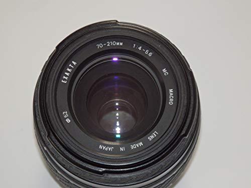 Objektiv - EXAKTA 70-210mm 1:4-5.6 MC Macro Ø 52 - ohne Bildstabilisator für Canon SLR und DSLR Kameras geeignet