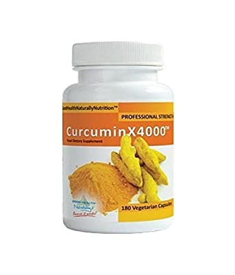 Curcuminx4000- 180caps by Good Health Naturally