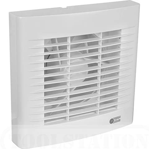 Airvent White Kitchen Extractor Fan with Pullcord 6