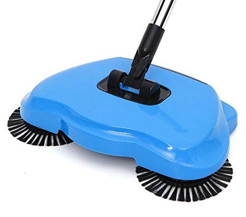 Blau Automatische Vakuum (Home Magic Stock Besen Chuwi ilife Gummi 360 elektrische Besen Drücken Sie Stil Kehrmaschine Home Automatische faul Home Vakuum Cleane, Blau)