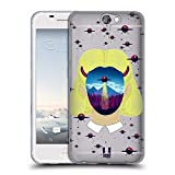 Head Case Designs Alien Abduktion Landschaft Portrait Soft Gel Hülle für HTC One A9