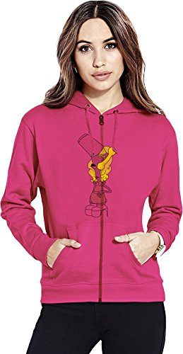 Roger gaga Womens Zipper Hoodie X-Large Baker Usa-sweatshirt