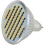 XMQC*Super Brillo 5,3 3,5 W 360 60x3528 LED Blanca Home Spot 12-24V PVC Cristal , blanco de 120 grados