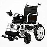 BHXUD Intelligenter Elektro-Rollstuhl, Automatisches Falten Leicht Behinderten Tragbaren Superleichten Alter Roller