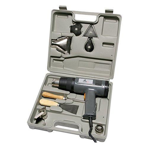 2000 Watt Heißluftpistole Heißluftfön Heißluftgebläse Koffer Zubehör ALMIPEX NEU