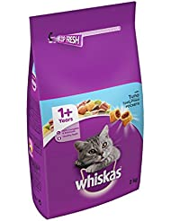 Whiskas 1 Cat Complete Dry with Tuna, 2 kg