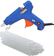Vertex 60W Glue Gun With 25 Sticks Blue with ON/OFF Switch