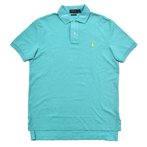 Ralph Lauren Herren Poloshirt, einfarbig türkis Club