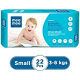 Mee Mee Premium Breathable Baby Diapers (Small- 22 Pieces)
